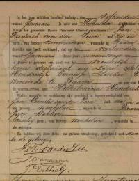 geboorte-akte Veen, Wilhelmina Hendrika van der 14-1-1880