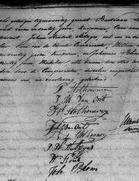 huwelijks-akte Slothouwer, Pieter en Jenneke Maria van Oort 12-6-1817 -2-