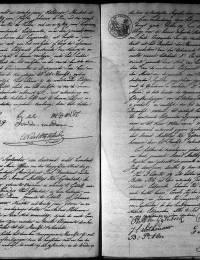 huwelijks-akte Gijtenbeek, A.M. van en Joh. Lamb. Slothouwer 11-9-1813
